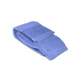 фото Полотенце Tete-a-Tete махровое Т-МП-6459. Размер: 90х150 см. Цвет: синий