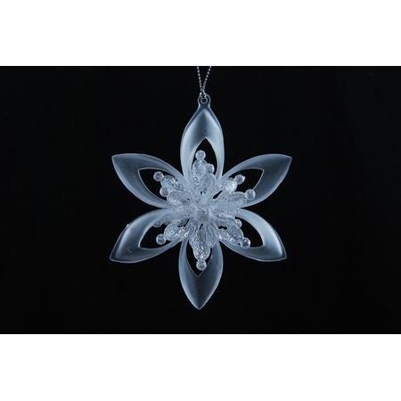 Купить Елочное украшение Crystal Deco «Снежинка» 1707755