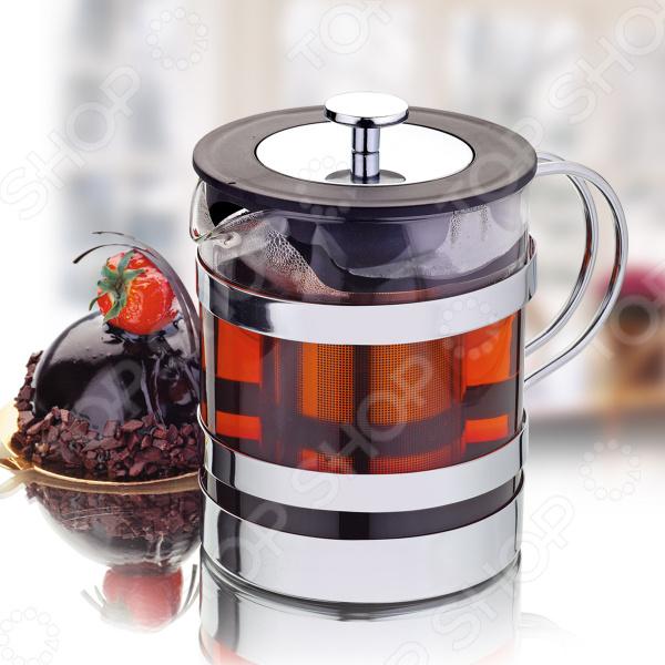 Чайник заварочный Augustin Welz AW-2006Чайники заварочные<br>Чайник заварочный Augustin Welz AW-2006 идеальное решение для любителей горячих напитков. Изделие отлично подходит для заваривания чая и травяных напитков. Специальное ситечко из нержавеющей стали позволит вам быстро заварить чай, не оставляя на дне ни одного листочка. Высококачественное жаропрочное стекло выдерживает значительные перепады температуры, поэтому вы можете нагревать и охлаждать напиток сколько угодно. Практичный и элегантный дизайн делают чайник прекрасным решением для вашего кухонного интерьера. Увеличенный объем чайника в 1,2 л идеально подойдет для большой семьи или посиделок с гостями.<br>