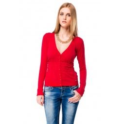фото Жакет Mondigo 9451. Цвет: красный. Размер одежды: 42