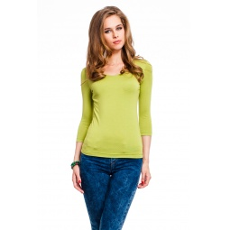 фото Кофта Mondigo 023. Цвет: зеленый. Размер одежды: 42