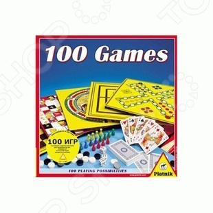 Игра настольная Piatnik «100 игр»