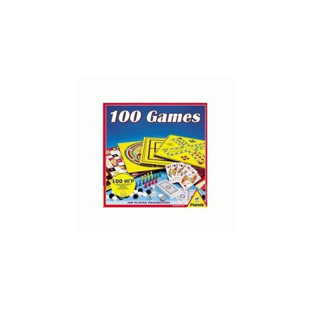 фото Игра настольная Piatnik «100 игр»