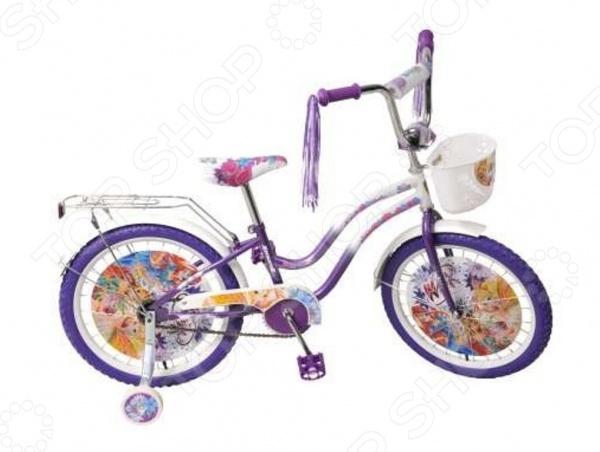 Велосипед детский Navigator ВН20088К «WINX»Велосипеды подростковые и детские<br>Велосипед детский Navigator ВН20088К WINX - создан специально для детей в возрасте от 6 лет. Надежную и прочную модель по-достоинству оценят как взрослые так и дети. Родителям непременно понравится качество модели. Рама велосипеда выполнена из высокопрочного металла, что значительно продлевает срок его службы. Высота и сиденья легко регулируется в соответствии с возрастом и ростом ребенка. Колеса, прошедшие компьютерную балансировку, оснащены бутиловыми шинами, которые хорошо удерживают воздух. В свою очередь вашей малышке непременно понравится яркий и красочный дизайн велосипеда, украшенный мишурой и изображениями любимых мультяшных героев. Научиться ездить на таком велосипеде не составит особого труда, ведь модель имеет дополнительные колеса для поддержки равновесия.<br>