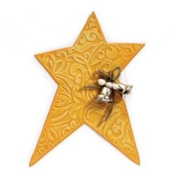 фото Форма для вырубки и форма для эмбоссирования Sizzix Bigz Die Звезда и Textured Impressions