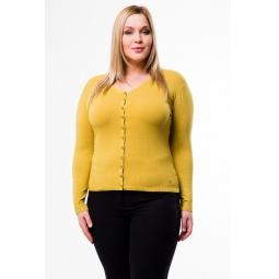 фото Жакет Mondigo XL 9130. Цвет: ярко-горчичный. Размер одежды: 52