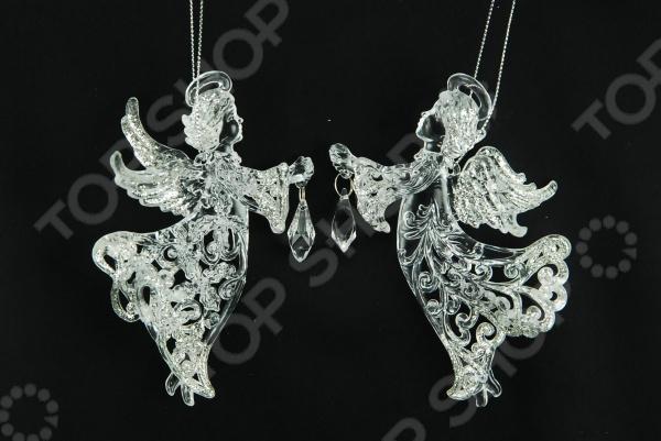 Елочное украшение Crystal Deco «Ангел». В ассортименте