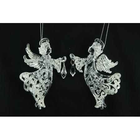 Купить Елочное украшение Crystal Deco «Ангел». В ассортименте