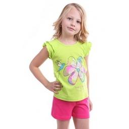 фото Комплект для девочки: джемпер и шорты Свитанак 606544. Рост: 98 см. Размер: 26