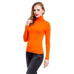 фото Водолазка Mondigo 046. Цвет: оранжевый. Размер одежды: 44