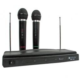 фото Набор беспроводных микрофонов для караоке DEFENDER MIC-155