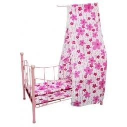 фото Кроватка для кукол Shantou Gepai с балдахином PH944