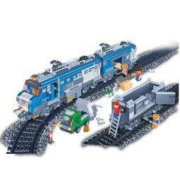 фото Конструктор Banbao Грузовой поезд на радио управлении, 1275 деталей
