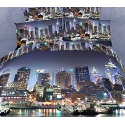 фото Комплект постельного белья Buenas Noches City. Satin Fotoprint. 2-спальный