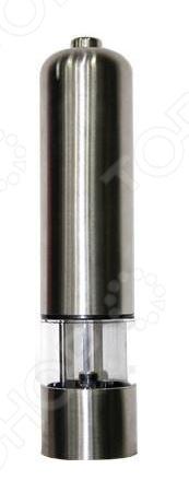 Мельница электрическая Boulle PM-01Перечницы<br>С использованием мельницы электрической Boulle PM-01 для перца приготовление пищи перейдет на качественно новый уровень. Вы получите ароматную и свежую приправу непосредственно перед приготовлением блюд, ведь не секрет, что свежемолотые специи намного насыщеннее и душистей покупных наборов. Предлагаемая модель сочетает в себе непревзойденное качество и стильный дизайн. Перемалывающие ножи мельницы выполнены из высококачественной керамики. Есть возможность регулировки степени помола. Мельница работает от четырех батареек типа АА не входят в комплект поставки .<br>