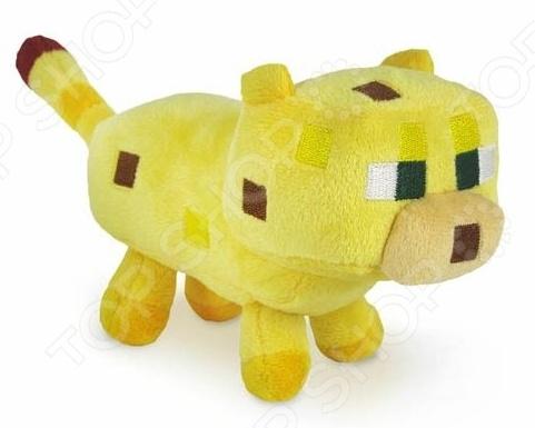 Мягкая игрушка Minecraft «Детеныш Оцелота» купить гранулы для производства полиэфирного волокна