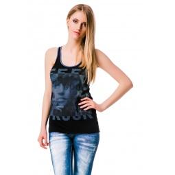 фото Майка Mondigo 8547. Цвет: черный. Размер одежды: 42