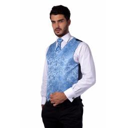 фото Жилет Mondigo 20494. Цвет: голубой. Размер одежды: S