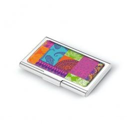 фото Визитница Troika Coloured paisley. Количество карт: 17
