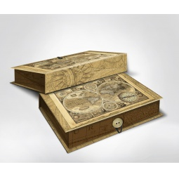 фото Шкатулка-коробка подарочная Феникс-Презент «Старые карты»