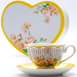 Купить Чайная пара Mayer&Boch MB-23001 «Садовые розы»