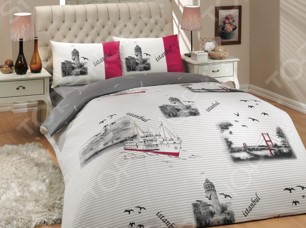Комплект постельного белья Hobby Istanbul. Цвет: серый. 2-спальный2-спальные<br>Спокойный и здоровый сон для человека также жизненно необходим, как и свежий воздух, ведь именно выспавшись, вы полны новых идей и сил для их реализации. Но возможен ли приятный сон на твердой кровати или некачественном постельном белье Конечно же, нет. Именно поэтому мы с гордостью представляем загадочный, фантастически красивый и роскошный комплект постельного белья от производителя Hobby.  Hobby Istanbul это постельное белье нового поколения , предназначенное для молодых и современных людей, желающих создать модный интерьер спальни и сделать быт более комфортным. Комплект изготовлен из ранфорса, который практичнее льна, а по тактильным ощущениям напоминает бязь. Этот материал идеально поддерживает естественный температурный баланс тела. Ткань подстраивается под температуру воздуха, поэтому зимой на таком белье тепло, а летом прохладно. Ранфорс легко впитывает влагу, оставаясь при этом сухим на ощупь. Универсальный цвет и высокое качество продукции гарантируют, что атмосфера вашей спальни наполнится теплотой и уютом, а вы испытаете множество сладких мгновений спокойного сна. При изготовлении постельного белья Hobby используются устойчивые гипоаллергенные красители. Почему стоит выбрать постельное белье от бренда Hobby  Изготовлено из экологически чистого, гипоаллергенного материала.  Отличается высокой гигроскопичностью и хорошо пропускает воздух.  Дополнено дизайнерским рисунком, который оживит помещение.  Легко в уходе, не выцветает даже после множества стирок.  Ткань имеет 57 переплетений нитей на 1 см2. В качестве сырья для изготовления данного комплекта постельного белья использованы нити хлопка. Натуральное хлопковое волокно известно своей прочностью и легкостью в уходе. Волокна хлопка состоят из целлюлозы, которая отлично впитывает влагу. Хлопок дышит и согревает лучше, чем шелк и лен. Поэтому одежда из хлопка гарантирует владельцу непревзойденный комфорт, а постельное белье при