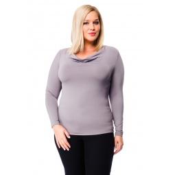 фото Кофта Mondigo XL 1464. Цвет: серый. Размер одежды: 52