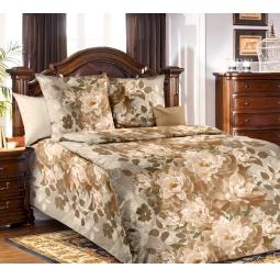 фото Комплект постельного белья Белиссимо «Селена». 1,5-спальный. Цвет: коричневый