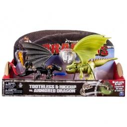 Купить Набор фигурок Dragons Беззубик и Иккинг против дракона