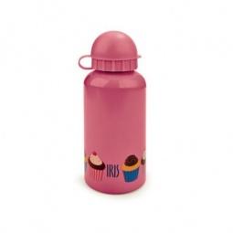 фото Бутылка для воды детская IRIS Barcelona Snack Rico. Цвет: розовый