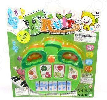 Игрушка музыкальная для ребенка Shantou Gepai «Орган. Фрукты»Игрушечные музыкальные инструменты<br>Игрушка музыкальная для ребенка Shantou Gepai Орган. Фрукты станет первым музыкальным инструментом вашего ребенка. Яркое исполнение и забавный дизайн обязательно привлекут его внимание. А наличие звуковых эффектов добавит еще больше веселья в игровой процесс. Эта музыкальная игрушка направлена на развитие цветового и звукового восприятия, а также мелкой моторики рук ребенка. Батарейки не входят в комплект поставки.<br>