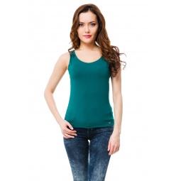 фото Майка Mondigo 335. Цвет: темно-зеленый. Размер одежды: 42