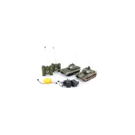 Купить Набор на радиоуправлении Пламенный Мотор «Танковый бой. Т-34 (СССР) - GERMANY KING TIGER (Германия)»