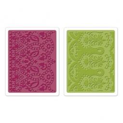 фото Набор форм для эмбоссирования Sizzix Textured Impressions Мечты о Марокко