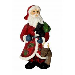 фото Елочное украшение-подвеска Crystal Deco «Санта с друзьями»