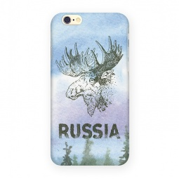 фото Чехол для iPhone 6 Mitya Veselkov «Лось»
