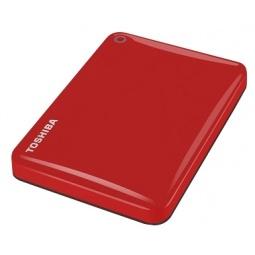 фото Внешний жесткий диск Toshiba Canvio Connect II 1Tb. Цвет: красный