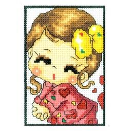 Купить Набор для вышивания крестиком RTO «Юная Джульетта»