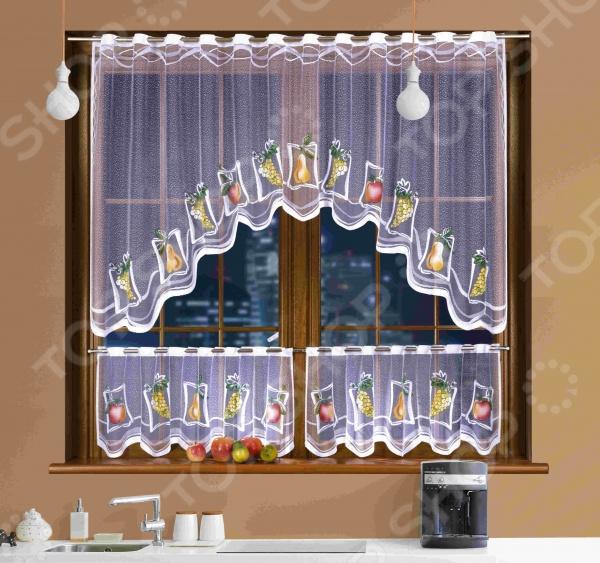 Комплект штор для кухни Wisan 3340 цена 2017