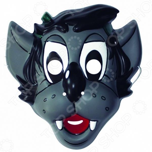 Маска детская Росмэн Волк. Ну, погоди! это детализированный элемент карнавального костюма, представляющий собой маску, которая вызовет настоящий восторг у всех юных поклонников преображения. Маска очень практичная, ваш ребенок всё увидит через глазницы существа. Если у него будет костюм в едином стиле с маской, то приз на любом конкурсе костюмов ему обеспечен. Эти маски могут понравится как девочкам, так и мальчикам, ведь все дети любят чувствовать себя кем-то другим.