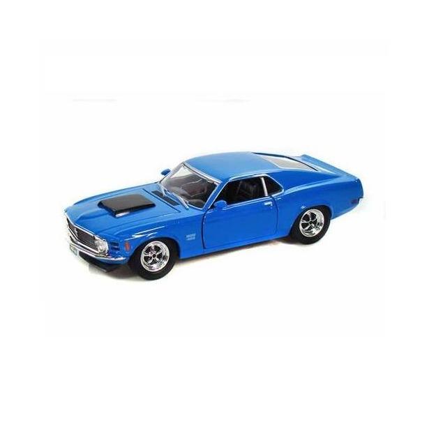 фото Модель автомобиля 1:24 Motormax Ford Mustang Boss 429 1970. В ассортименте