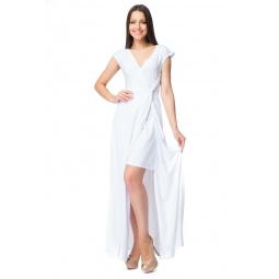 фото Платье Mondigo 6086. Цвет: белый. Размер одежды: 46