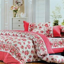 фото Комплект постельного белья Amore Mio Miranda. Provence. 1,5-спальный