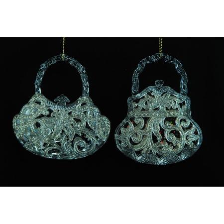 Купить Елочное украшение Crystal Deco «Сумочка» 1707677. В ассортименте