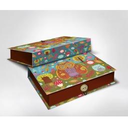 фото Шкатулка-коробка подарочная Феникс-Презент «Совушки»