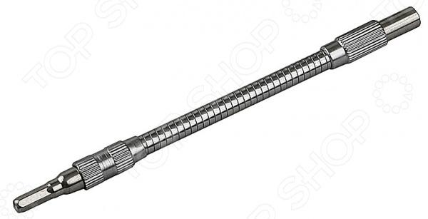 Адаптер гибкий Stayer 25512Прочие расходные материалы для строительства и ремонта<br>Адаптер гибкий Stayer 25512 гибкий адаптер со встроенным магнитным держателем для бит. Предназначен адаптер для работы с отвертками в ограниченном пространстве, труднодоступных местах, в том числе под углом 90 . Выполнен инструмент из прочной инструментальной стали. Адаптер может также использоваться с ручным инструментом. Такой держатель значительно облегчит доступ к труднодоступному крепежу.<br>