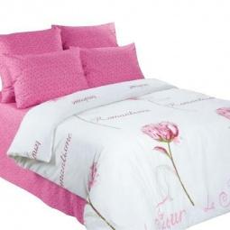 фото Комплект постельного белья Нежность «Романтизм». 1,5-спальный. Размер наволочки: 70х70 см — 2 шт