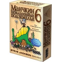 Купить Игра настольная Мир Хобби «Манчкин 6. Безбашенные Подземелья»