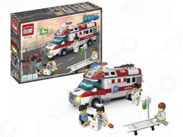 Конструктор игровой Brick Ambulance 1717113 цена