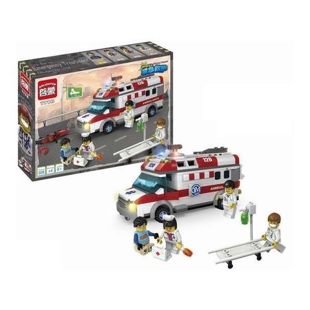Купить Конструктор игровой Brick Ambulance 1717113